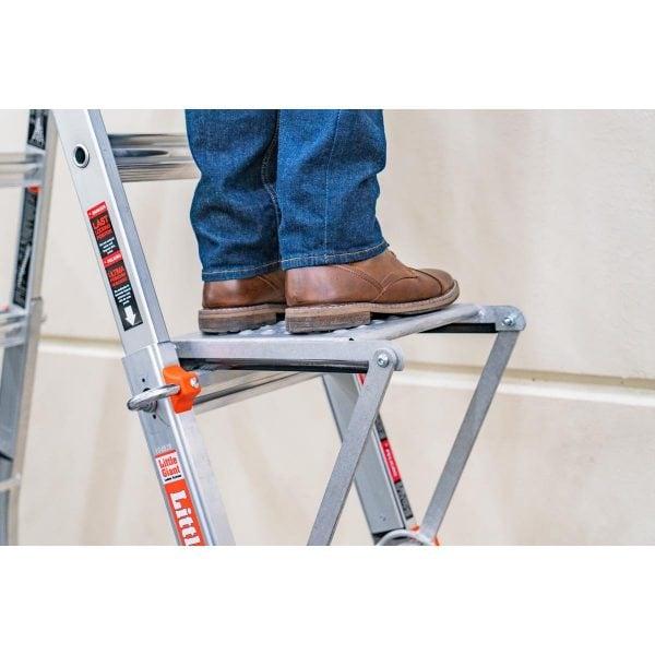 Ladder Work Platform Velocity Lifstyle Little Giant Ladders
